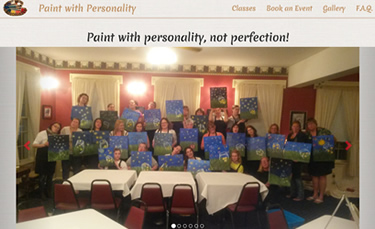 paint with personality